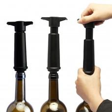 Bomba De Vacío Vino Con 2 Tapones